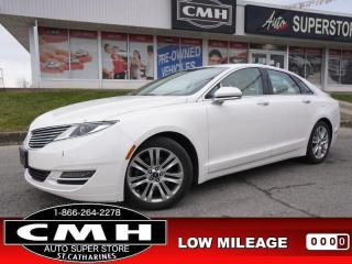 Used 2013 Lincoln MKZ Base  LEATH P/SEATS HTD-SEATS SYNC 18-AL for sale in St. Catharines, ON