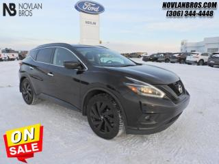 Used 2018 Nissan Murano AWD SL  - SL -  Navigation for sale in Paradise Hill, SK