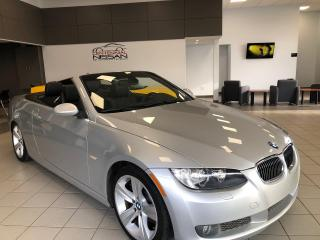 Used 2007 BMW 3 Series 335i Cabriolet   Retractable Hardtop for sale in Charlottetown, PE