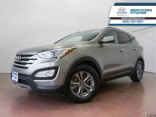 Used 2016 Hyundai Santa Fe Sport BLUETOOTH | HTD SEATS | HTD STEERING  - $123 B/W for sale in Brantford, ON