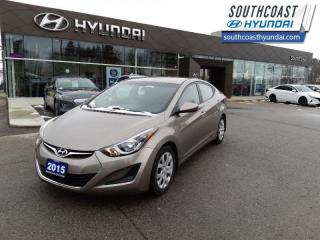 Used 2015 Hyundai Elantra GL at  - Heated Seats -  Bluetooth - $83 B/W for sale in Simcoe, ON