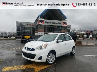 Used 2017 Nissan Micra S  - CD Player -  Aux Jack -  Cloth Seats - $77 B/W for sale in Ottawa, ON