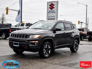 Used 2018 Jeep Compass Trailhawk 4x4 ~Nav ~Camera ~Heated Seats + Wheel for sale in Barrie, ON
