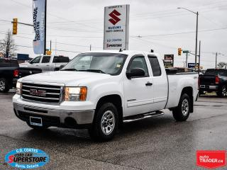 Used 2012 GMC Sierra 1500 SL Extended Cab 4x4 ~4.8L V8 ~Backrack + Toolbox for sale in Barrie, ON