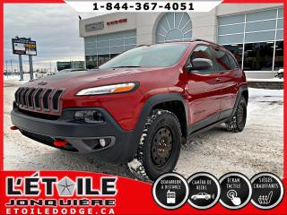 Used 2017 Jeep Cherokee TRAILHAWK 4X4 V6 for sale in Jonquière, QC