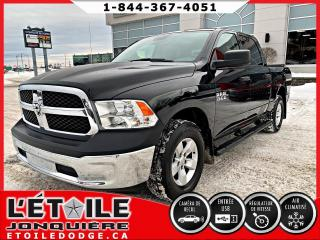 Used 2018 RAM 1500 ST cabine d'équipe 4x4 V6 caisse de 5 pi for sale in Jonquière, QC