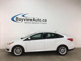 Used 2015 Ford Focus - AUTO! REVERSE CAM! SYNC! ONLY 34,000KMS! for sale in Belleville, ON