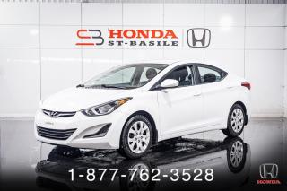 Used 2015 Hyundai Elantra GL + A/C + SIEGES CHAUFF + CRUISE + WOW! for sale in St-Basile-le-Grand, QC