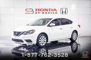 Used 2018 Nissan Sentra S + AUTO + A/C + CRUISE + WOW! for sale in St-Basile-le-Grand, QC