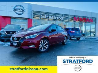 New 2021 Nissan Versa SR for sale in Stratford, ON