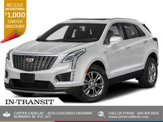 New 2021 Cadillac XT5 Premium Luxury SAVE AN ADDITIONAL $1,000! for sale in Burnaby, BC