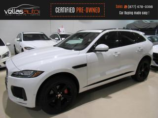 Used 2019 Jaguar F-PACE S| AWD| NAVI| PANO RF| 3.0L SUPERCHARGED for sale in Vaughan, ON