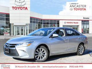 Used 2017 Toyota Camry XLE V6 Leather Nav Sunroof Loaded for sale in Ancaster, ON