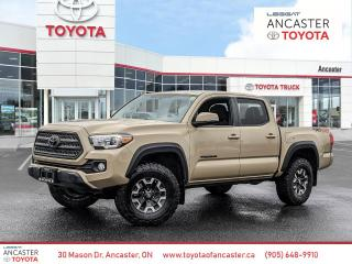 Used 2017 Toyota Tacoma TRD Offroad for sale in Ancaster, ON