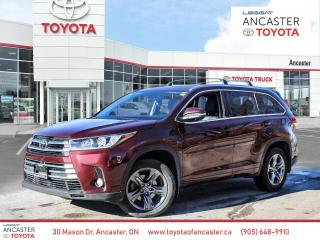 Used 2018 Toyota Highlander Limited Nav Leather Sunroof Htd seats for sale in Ancaster, ON