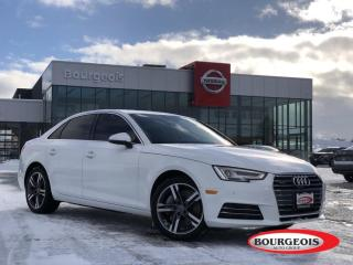 Used 2017 Audi A4 2.0T Technik LEATHER, NAVIGATION, SUNROOF for sale in Midland, ON