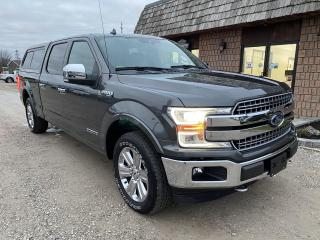 Used 2018 Ford F-150 Lariat,Diesel for sale in Ridgetown, ON