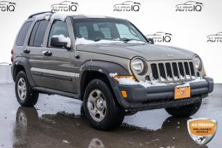 Used 2006 Jeep Liberty Sport AS TRADED SPECIAL | YOU CERTIFY, YOU SAVE for sale in Innisfil, ON