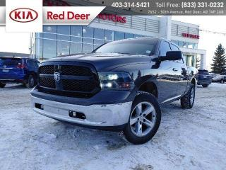 Used 2018 RAM 1500 SLT Crew Cab 4x4, Rigid Headlights, Wheel Rock Lights, Backup Camera for sale in Red Deer, AB