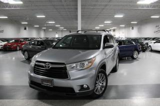 Used 2015 Toyota Highlander XLE NO ACCIDENTS I NAVIGATION I LEATHER I SUNROOF I REAR CAM for sale in Mississauga, ON