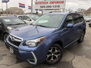 Used 2016 Subaru Forester XT Touring pkg. Htd clothe/Leather seats/Pano Sunroof/Camera for sale in Mississauga, ON
