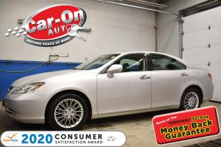 Used 2007 Lexus ES 350 PREMIUM PLUS | HEATED/COOLED SEATS l SUNROOF | MEM for sale in Ottawa, ON