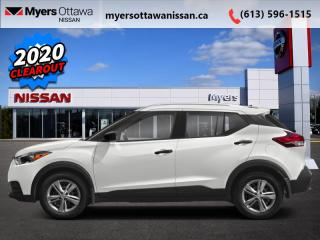 New 2020 Nissan Kicks SV  - Android Auto -  Apple CarPlay for sale in Ottawa, ON