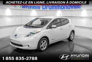 Used 2012 Nissan Leaf SL + GARANTIE + NAVI + CAMERA + A/C + WO for sale in Drummondville, QC