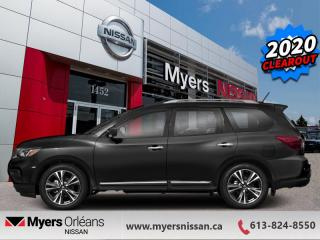 New 2020 Nissan Pathfinder Platinum  - Navigation - $297 B/W for sale in Orleans, ON