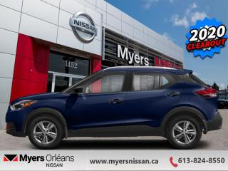 New 2020 Nissan Kicks SV  - Android Auto -  Apple CarPlay - $155 B/W for sale in Orleans, ON
