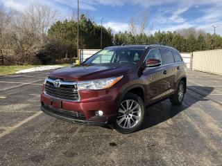 Used 2016 Toyota Highlander XLE AWD for sale in Cayuga, ON
