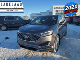 New 2020 Ford Edge Titanium  - Navigation - Cooled Seats - $292 B/W for sale in Prince Albert, SK