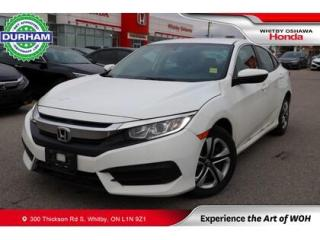 Used 2017 Honda Civic LX | CVT for sale in Whitby, ON