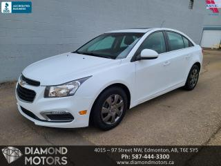 Used 2016 Chevrolet Cruze Limited LT for sale in Edmonton, AB