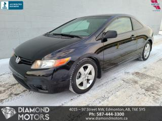 Used 2006 Honda Civic Coupe LX for sale in Edmonton, AB