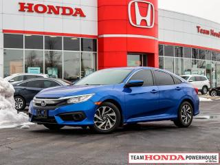 Used 2017 Honda Civic EX--No Accidents--Remote Starter--Backup Camera--Honda Sensing--Lane Watch for sale in Milton, ON