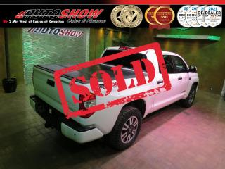 Used 2018 Toyota Tundra 4WD TRD CrewMax - Nav, Htd Lthr, Sunroof for sale in Winnipeg, MB