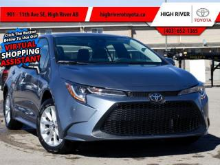 New 2021 Toyota Corolla LE Upgrade Package    FWD for sale in High River, AB