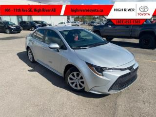 Used 2021 Toyota Corolla LE CVT    FWD for sale in High River, AB
