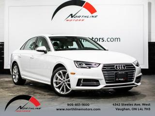 Used 2018 Audi A4 Progressiv/Navigation/360 Camera/Blindspot for sale in Vaughan, ON