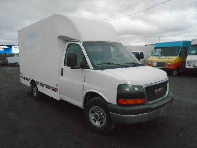 2013 GMC Savana 3500 CUBE / BUBBLE VAN
