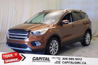 Used 2017 Ford Escape Titanium 4WD*LEATHER*SUNROOF*NAV* for sale in Regina, SK