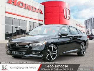 New 2021 Honda Accord Sport 2.0T HEATED SEATS | APPLE CARPLAY™ & ANDROID AUTO™ | HONDA SENSING TECHNOLOGIES for sale in Cambridge, ON
