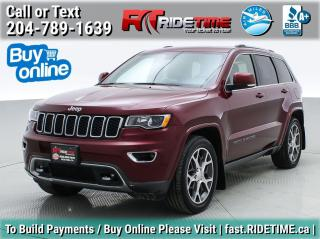 Used 2018 Jeep Grand Cherokee Sterling Edition for sale in Winnipeg, MB