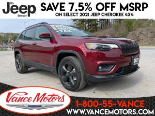 New 2021 Jeep Cherokee Altitude 4x4...SUNROOF*LEATHER*HTD SEATS! for sale in Bancroft, ON