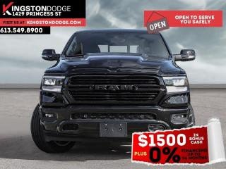 New 2021 RAM 1500 Sport | Night Edition | Heated Seats & Steering Wh for sale in Kingston, ON