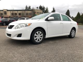 Used 2010 Toyota Corolla 4DR SDN AUTO LE for sale in Surrey, BC