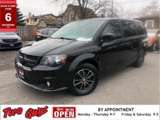 Used 2017 Dodge Grand Caravan SXT Premium Plus | BlackTop | Nav | DVD | New Tire for sale in St Catharines, ON