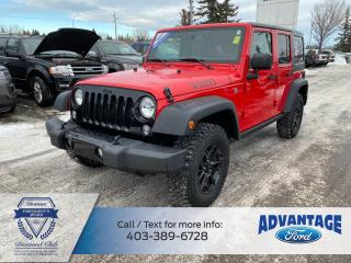 Used 2016 Jeep Wrangler Unlimited Sport WILLY WHEELER PACKAGE for sale in Calgary, AB