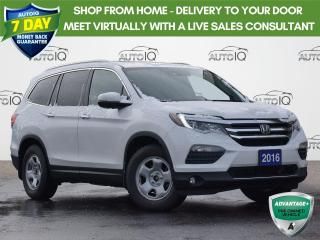 Used 2016 Honda Pilot Touring AWD | POWER LIFTGATE| POWER MOONROOF | BLU RAY ENT. | SNOW TIRES for sale in Waterloo, ON